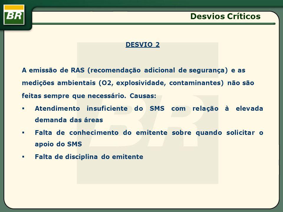 Desvios Críticos DESVIO 2