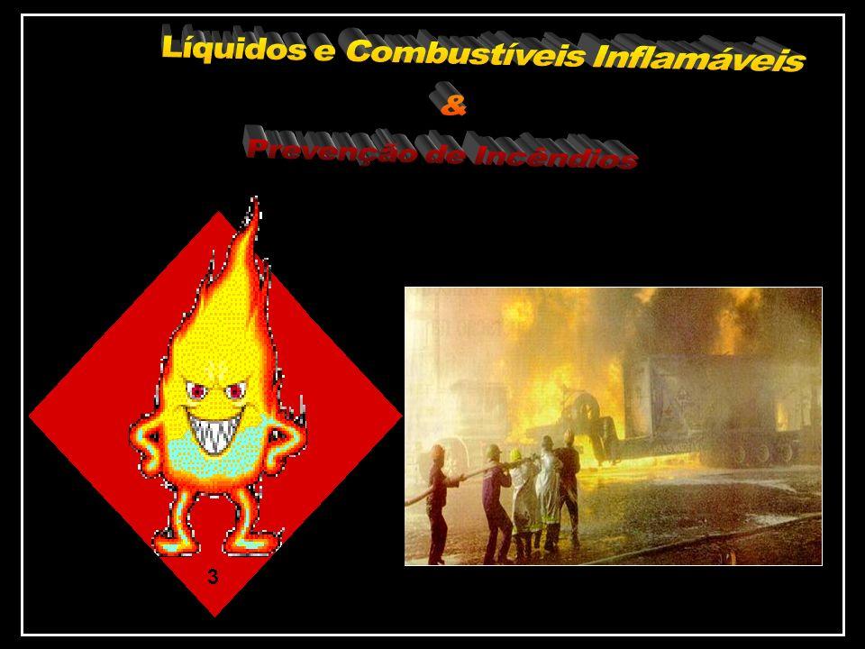 Líquidos e Combustíveis Inflamáveis & Prevenção de Incêndios