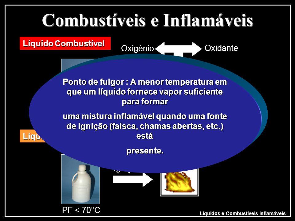 Combustíveis e Inflamáveis