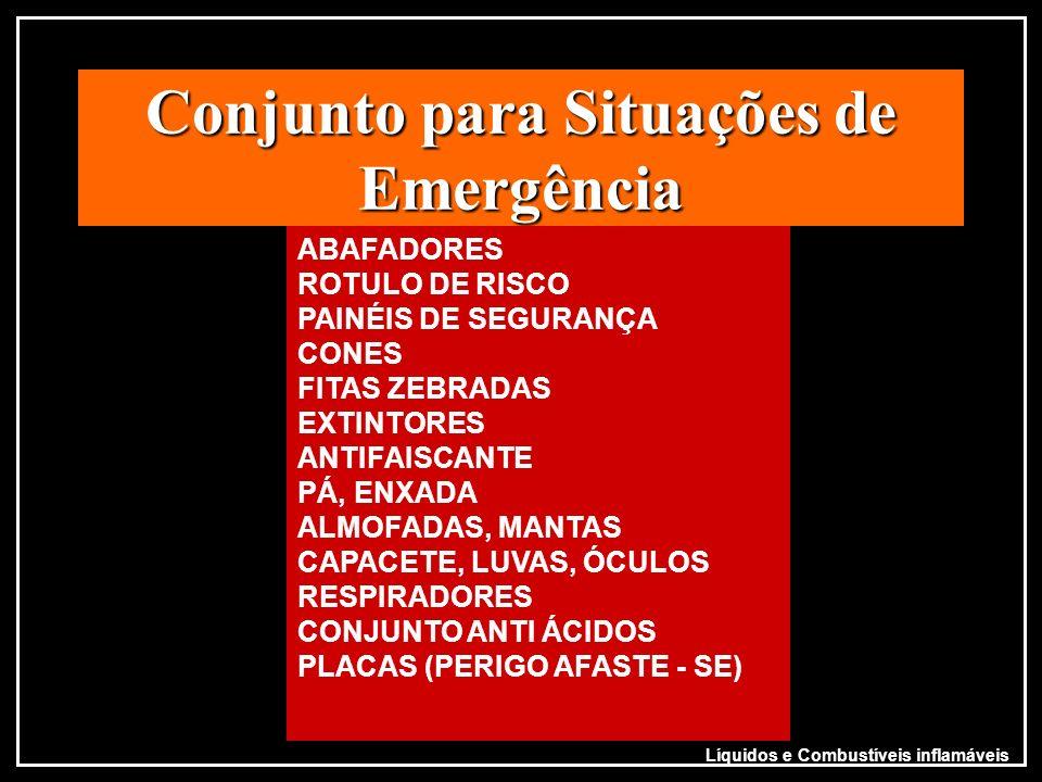 Conjunto para Situações de Emergência