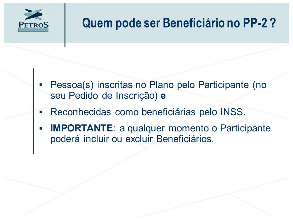 Quem pode ser Beneficiário no PP-2