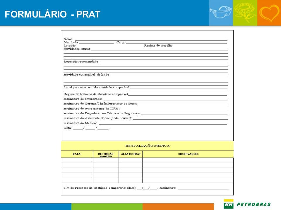 FORMULÁRIO - PRAT