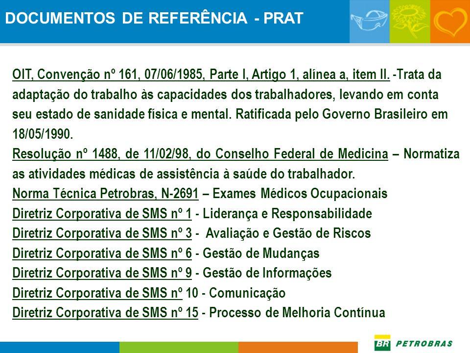 DOCUMENTOS DE REFERÊNCIA - PRAT