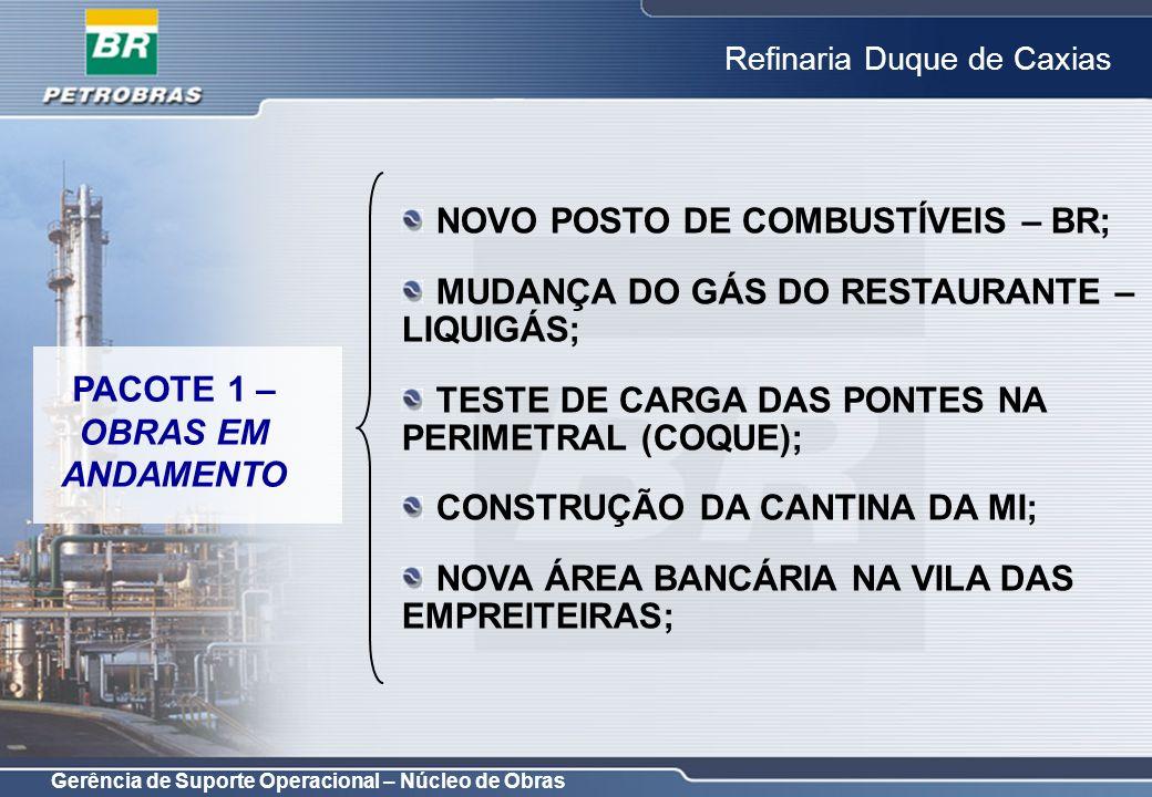 NOVO POSTO DE COMBUSTÍVEIS – BR;
