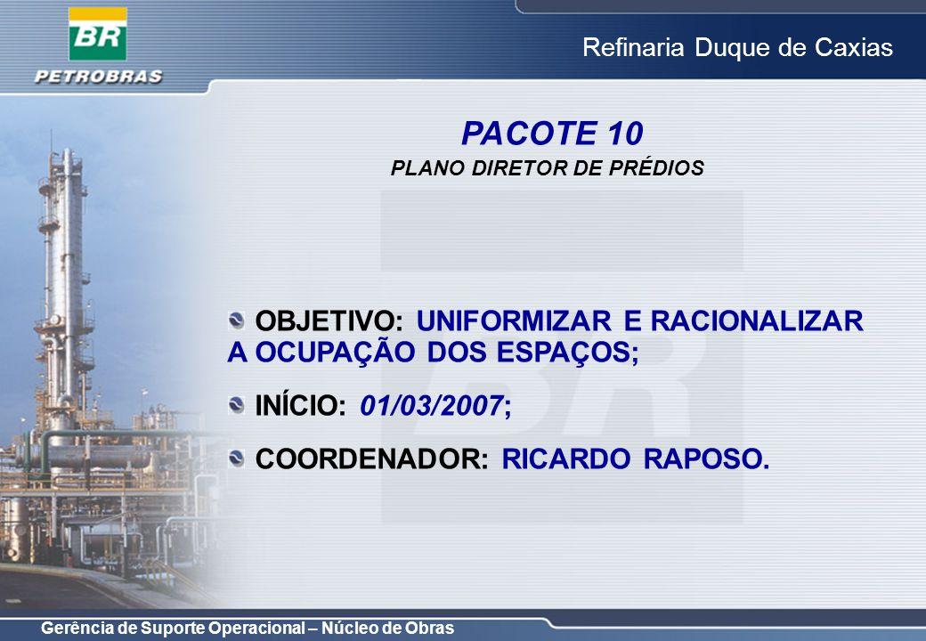 PLANO DIRETOR DE PRÉDIOS