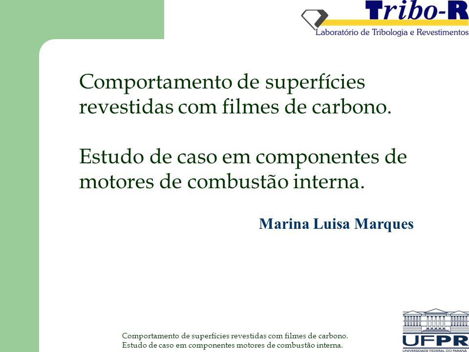 Comportamento de superfícies revestidas com filmes de carbono.