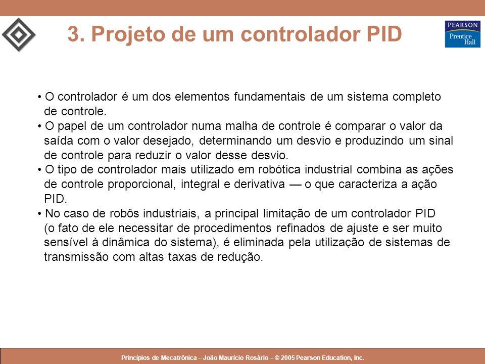3. Projeto de um controlador PID