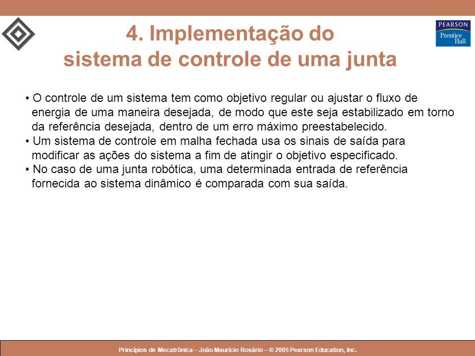 4. Implementação do sistema de controle de uma junta