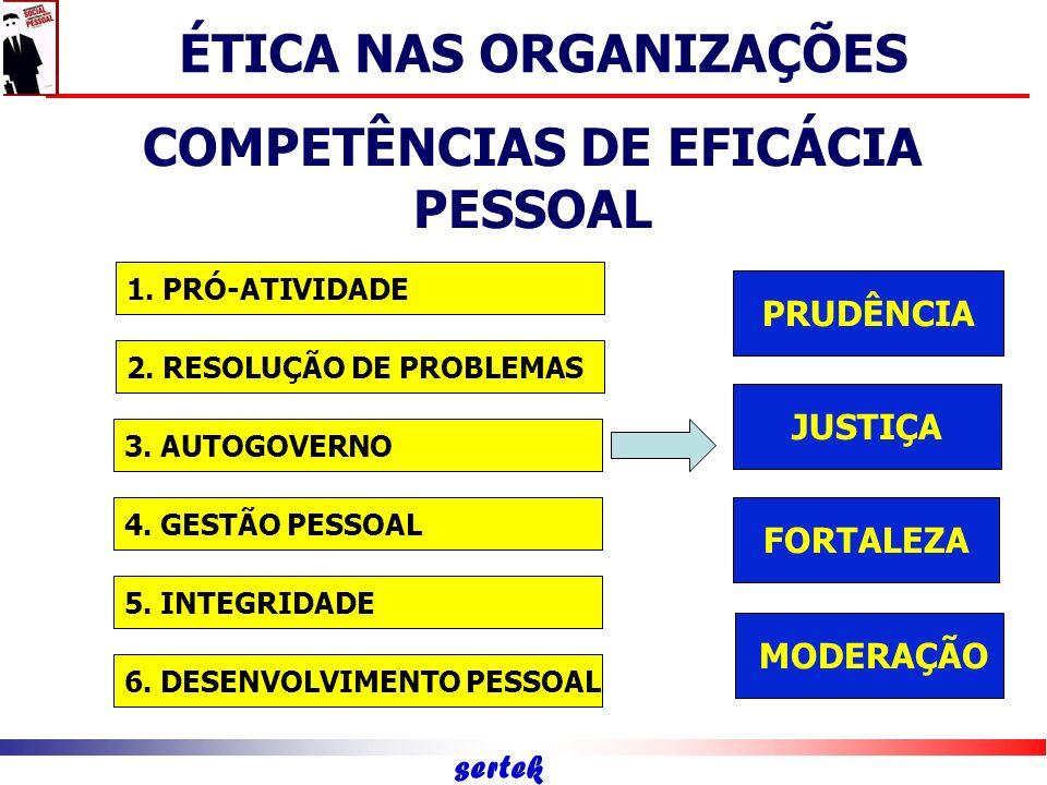 COMPETÊNCIAS DE EFICÁCIA PESSOAL