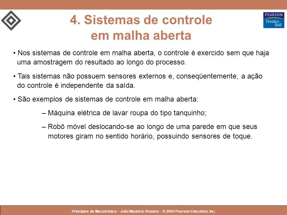 4. Sistemas de controle em malha aberta