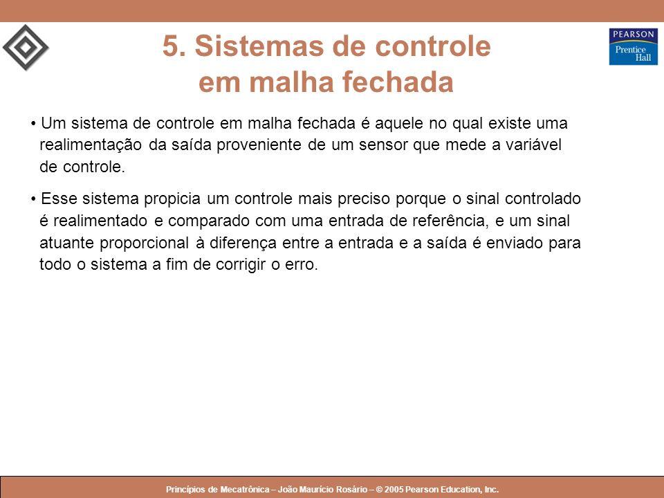 5. Sistemas de controle em malha fechada