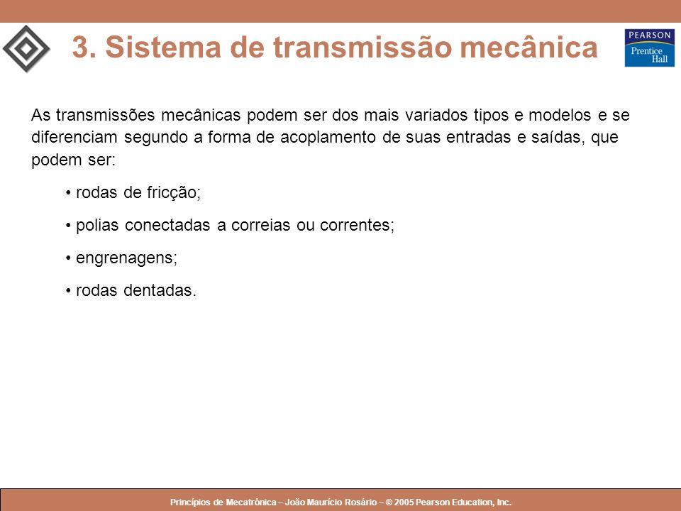 3. Sistema de transmissão mecânica