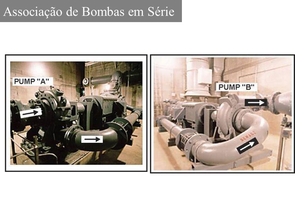 Associação de Bombas em Série