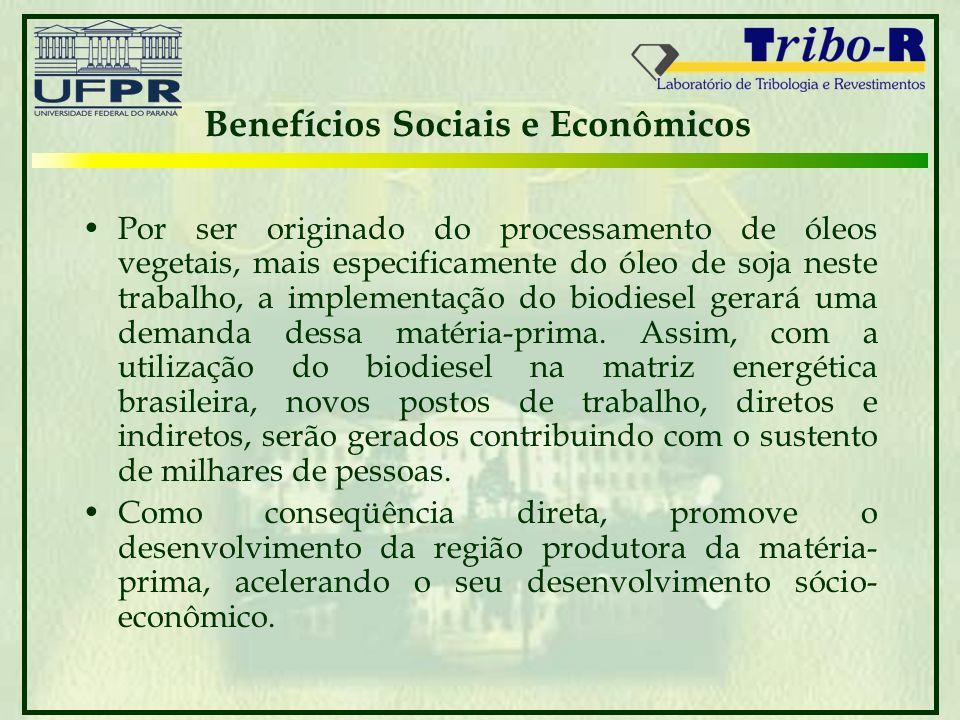 Benefícios Sociais e Econômicos