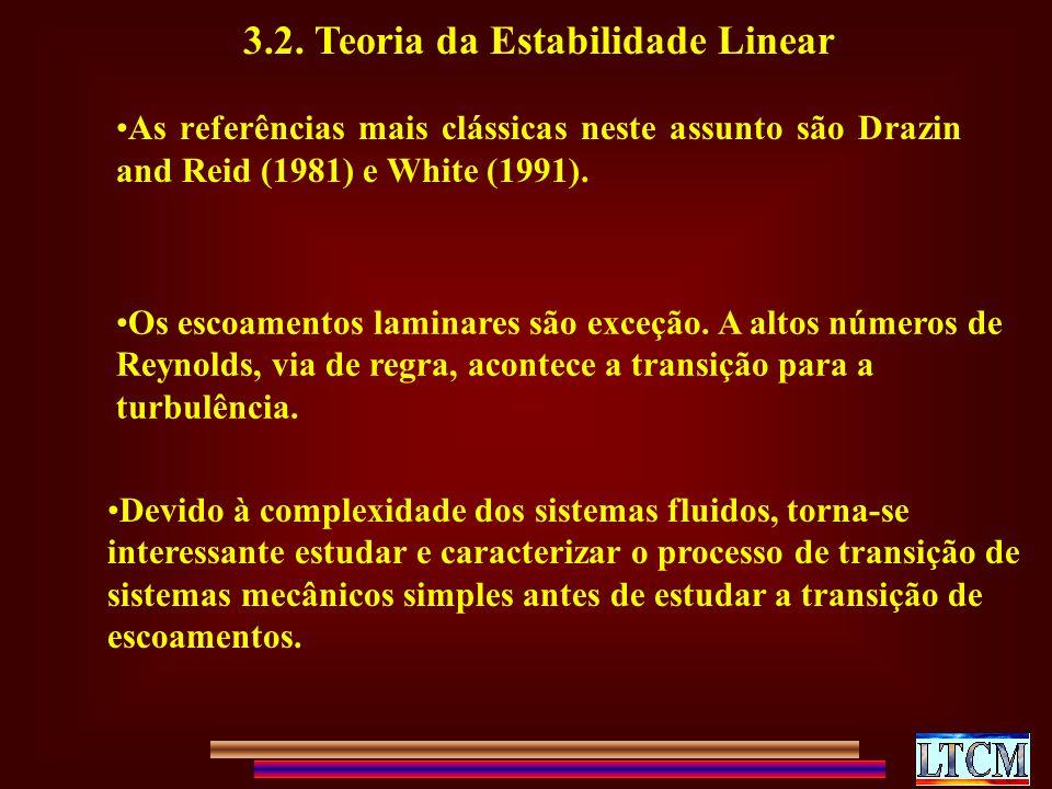 3.2. Teoria da Estabilidade Linear