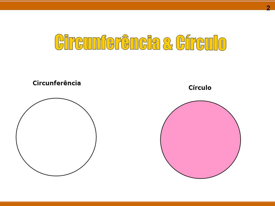 Circunferência & Círculo