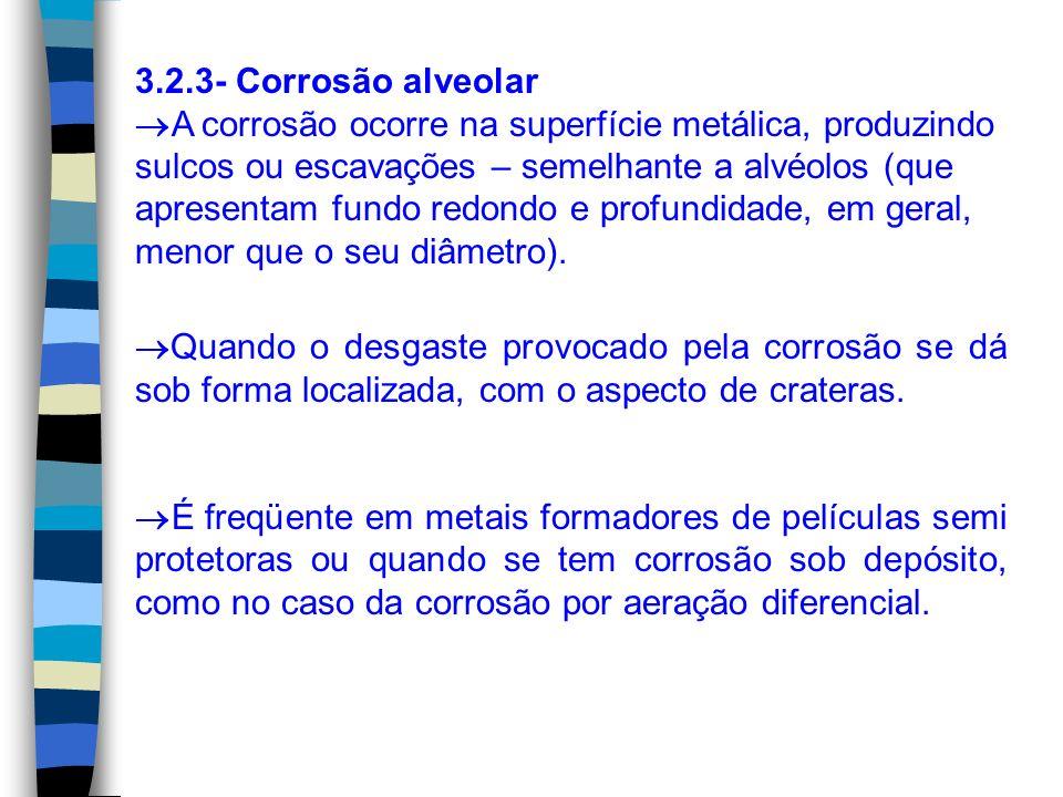 3.2.3- Corrosão alveolar