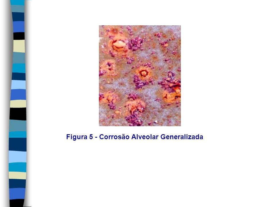 Figura 5 - Corrosão Alveolar Generalizada