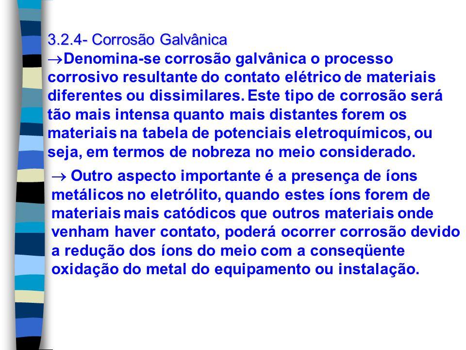 3.2.4- Corrosão Galvânica