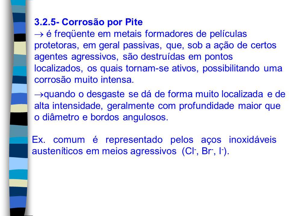 3.2.5- Corrosão por Pite