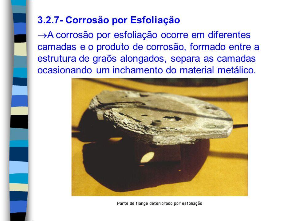 3.2.7- Corrosão por Esfoliação