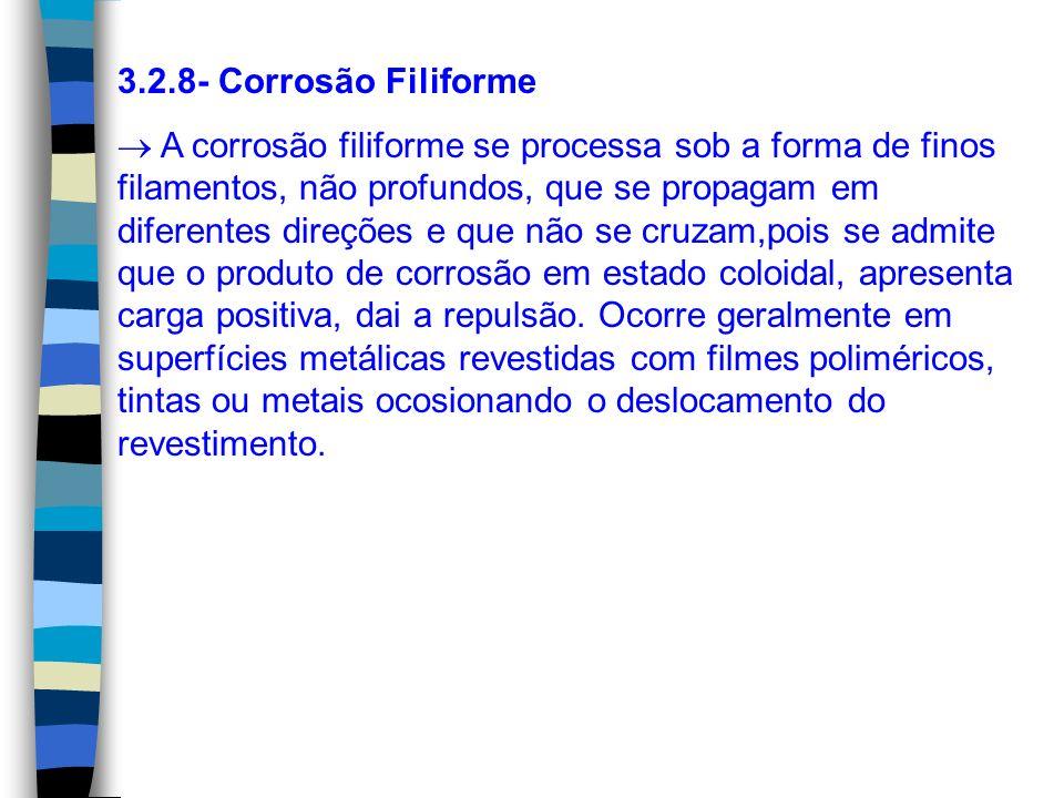 3.2.8- Corrosão Filiforme