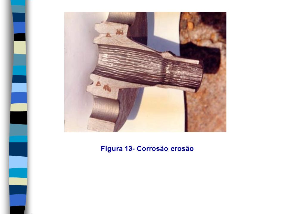 Figura 13- Corrosão erosão