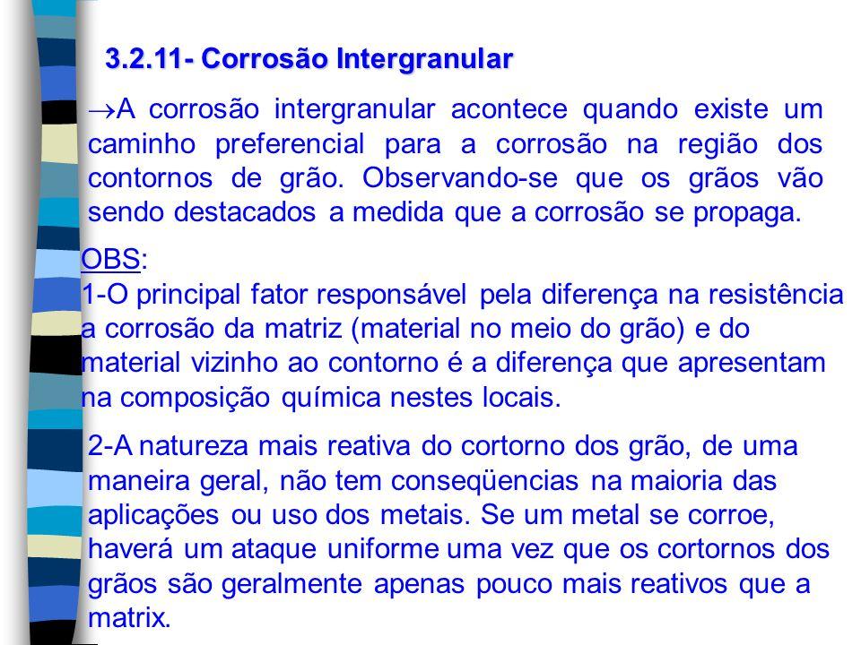 3.2.11- Corrosão Intergranular