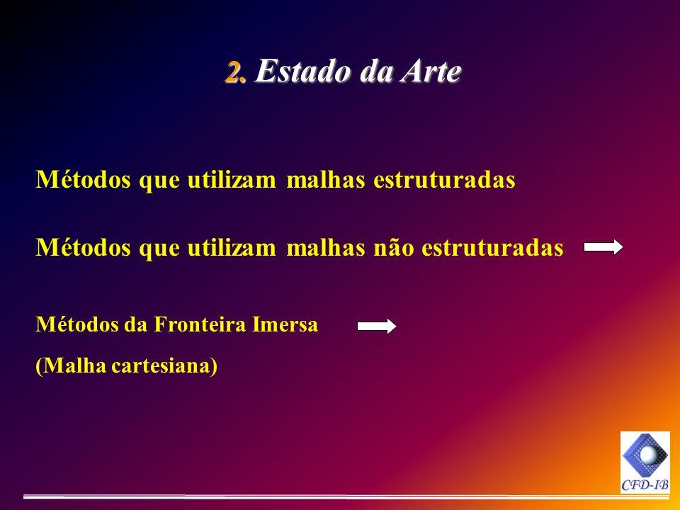 2. Estado da Arte Métodos que utilizam malhas estruturadas