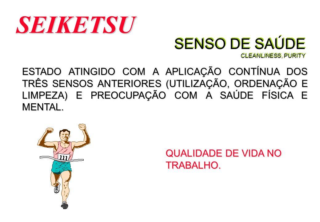 SENSO DE SAÚDE CLEANLINESS, PURITY