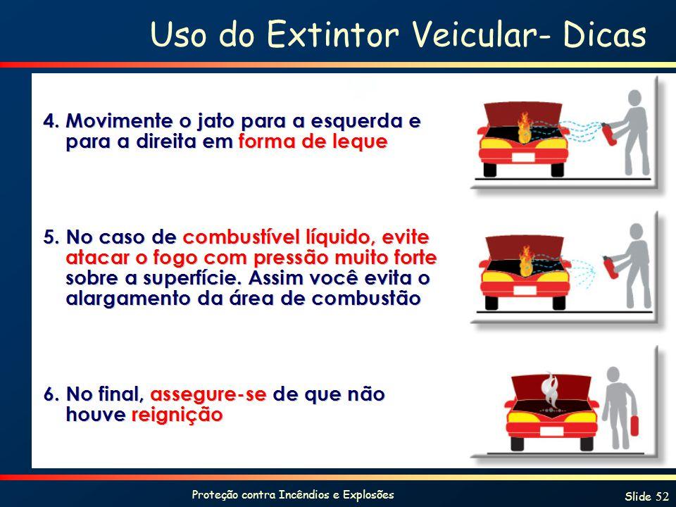 Uso do Extintor Veicular- Dicas