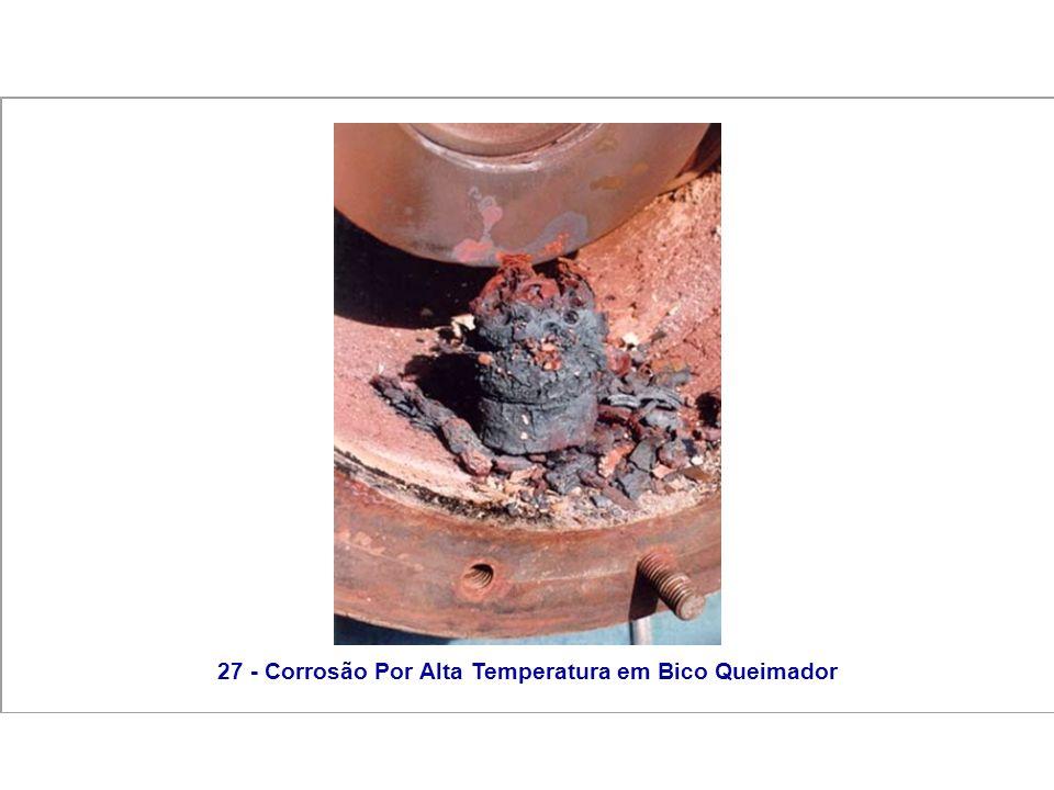 27 - Corrosão Por Alta Temperatura em Bico Queimador