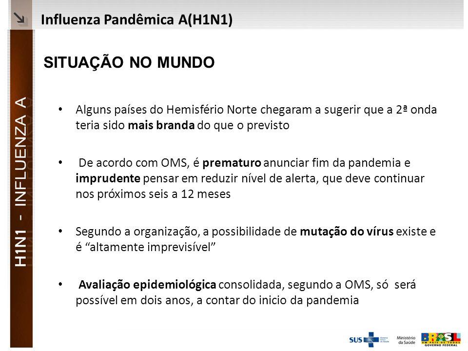 Influenza Pandêmica A(H1N1)
