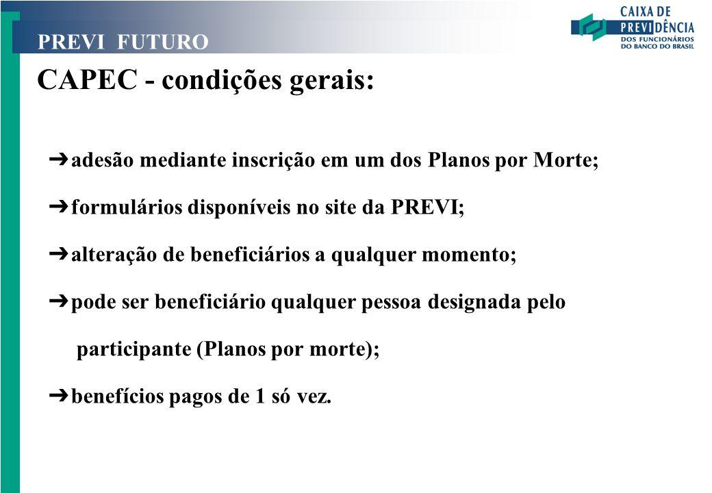 CAPEC - condições gerais: