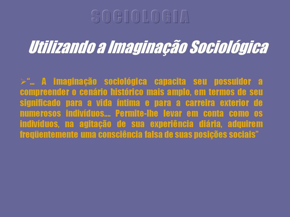 Utilizando a Imaginação Sociológica