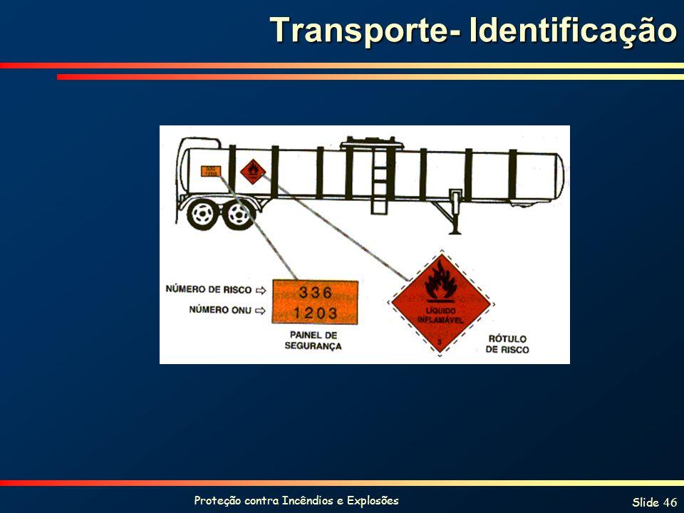 Transporte- Identificação