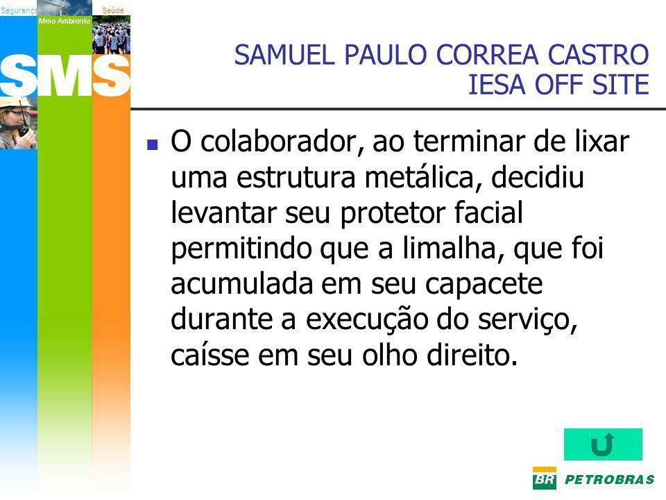 SAMUEL PAULO CORREA CASTRO IESA OFF SITE