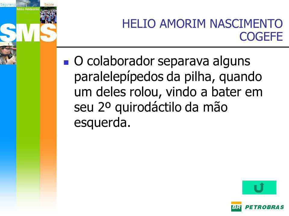 HELIO AMORIM NASCIMENTO COGEFE