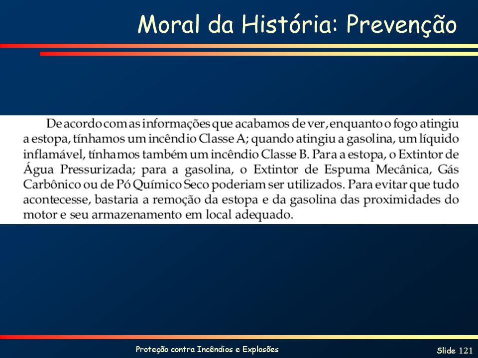 Moral da História: Prevenção