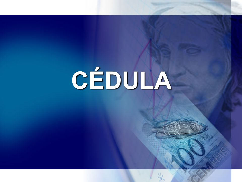 CÉDULA