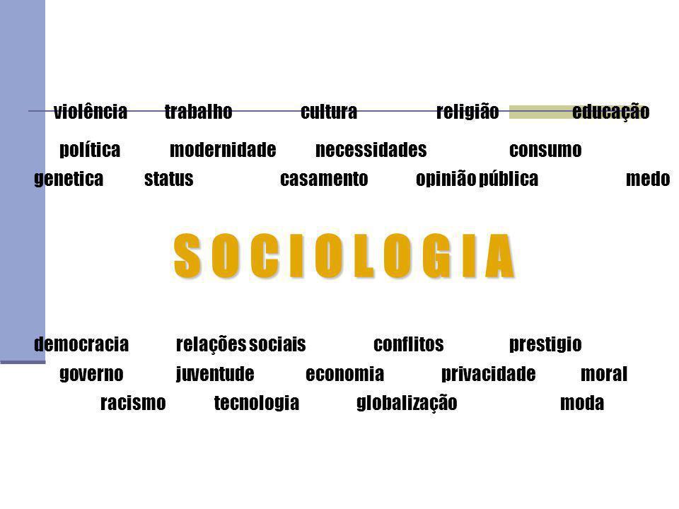violência. trabalho. cultura. religião. educação política. modernidade
