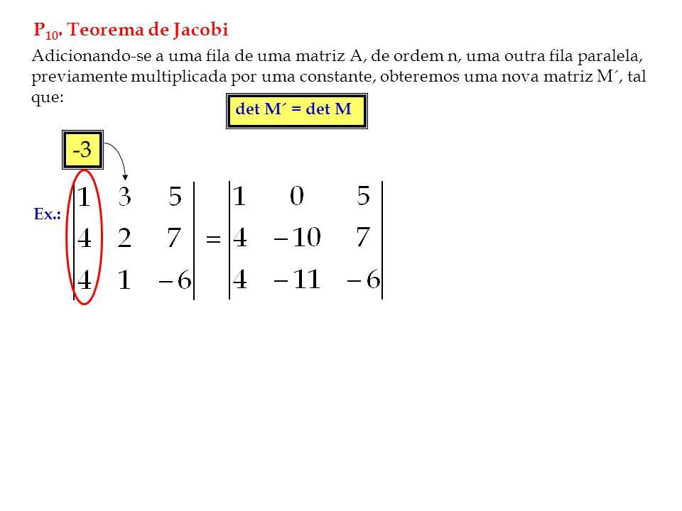 P10. Teorema de Jacobi