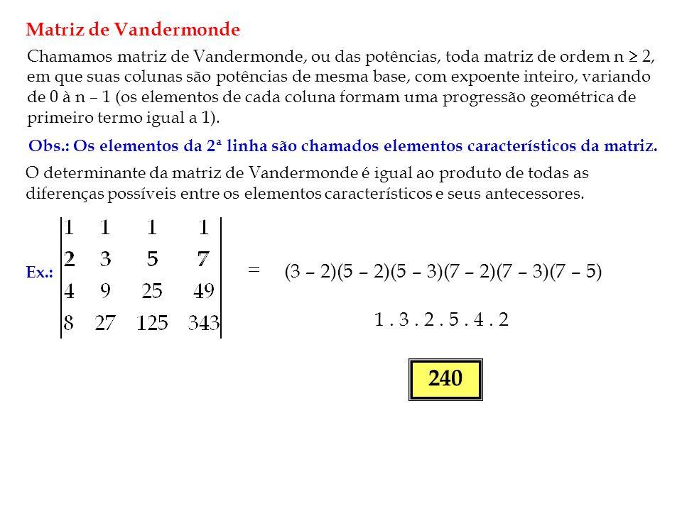 Matriz de Vandermonde