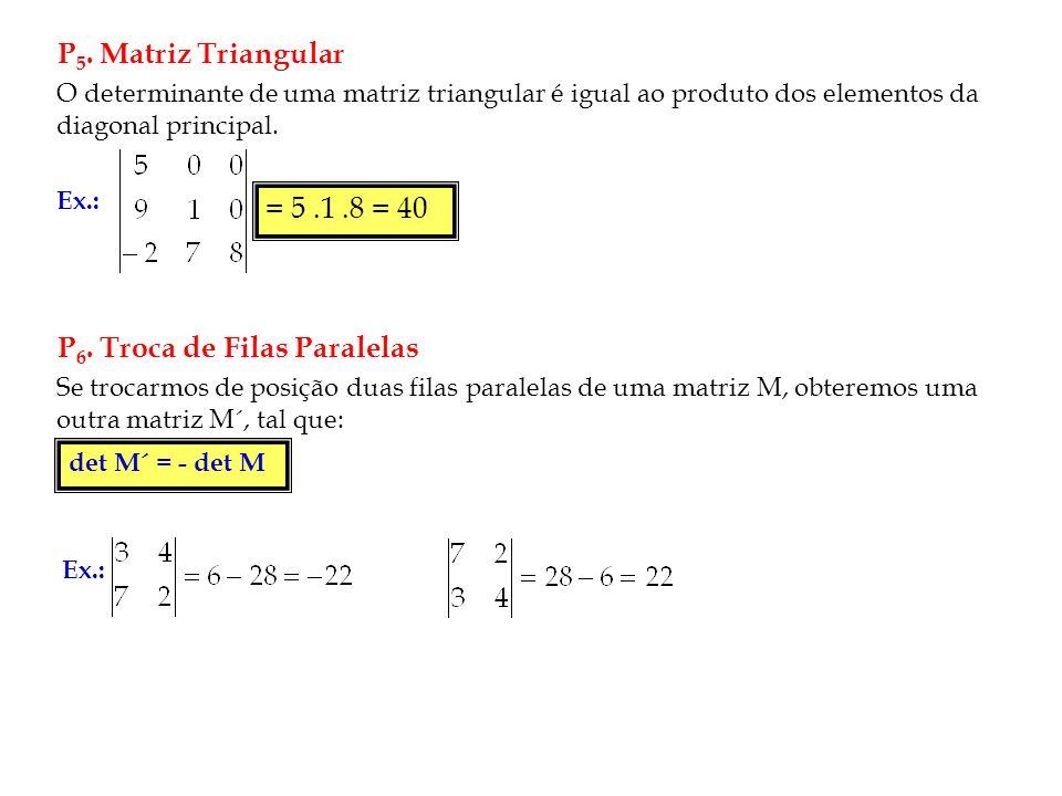 P6. Troca de Filas Paralelas