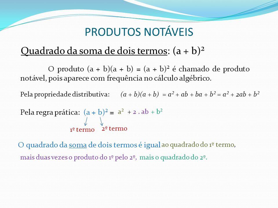 (a + b)(a + b) = a² + ab + ba + b² = a² + 2ab + b²