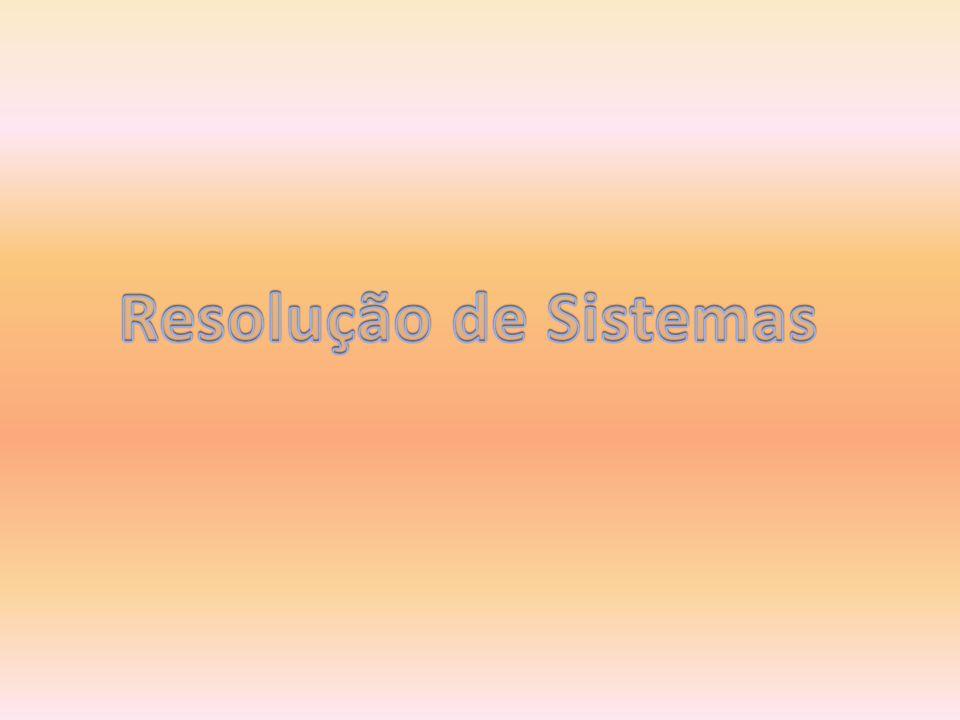 Resolução de Sistemas