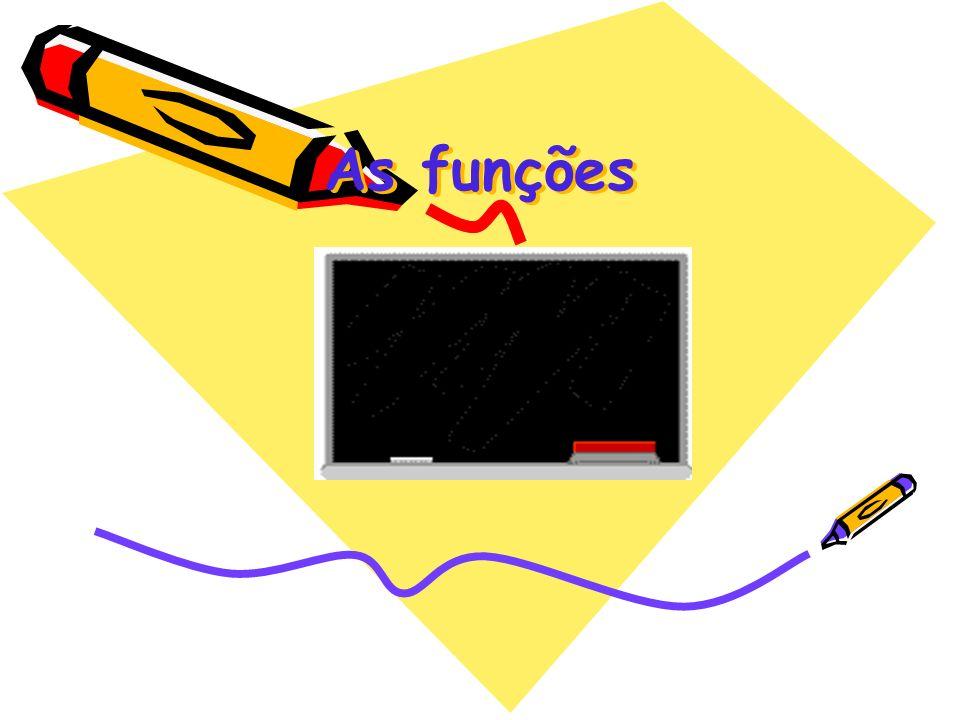As funções