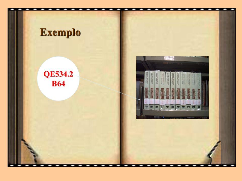 Exemplo QE534.2 B64