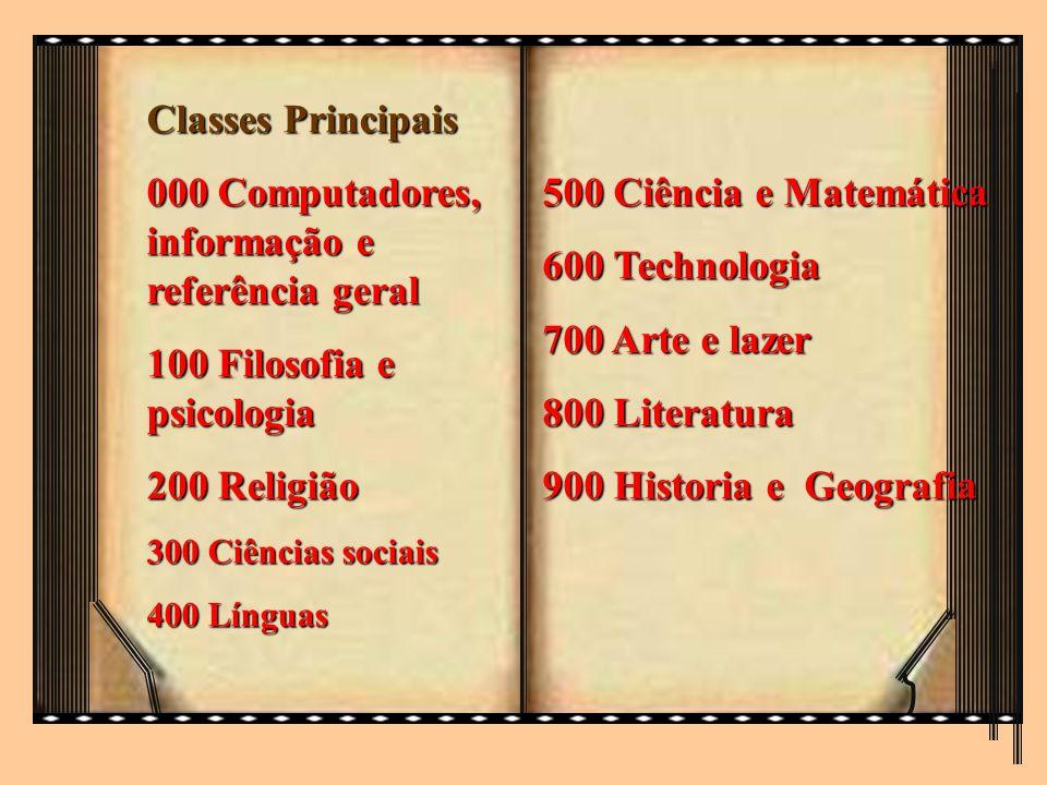 000 Computadores, informação e referência geral