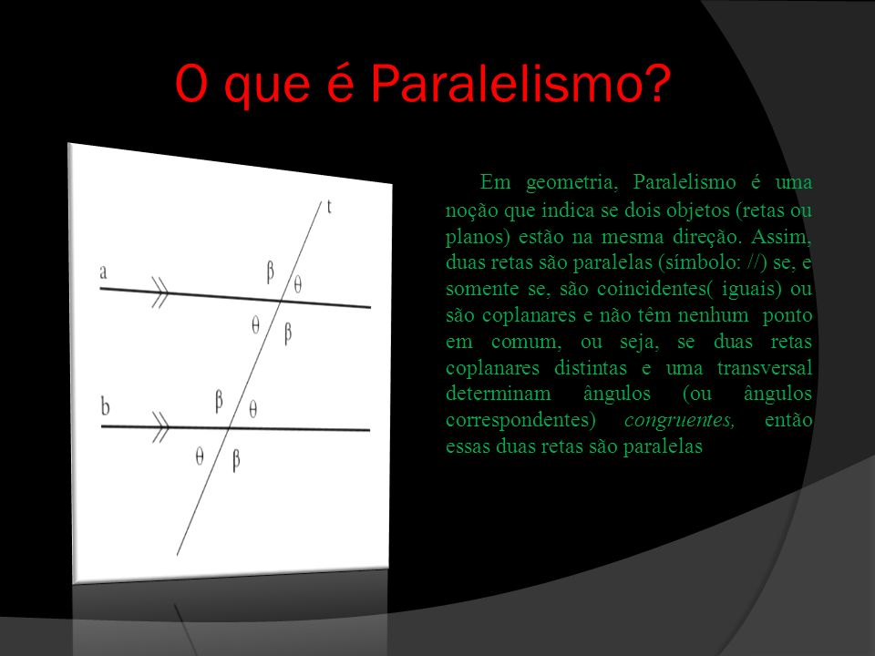 O que é Paralelismo